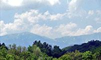 Панорамна гледка от терасата